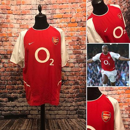 Arsenal 2002-04