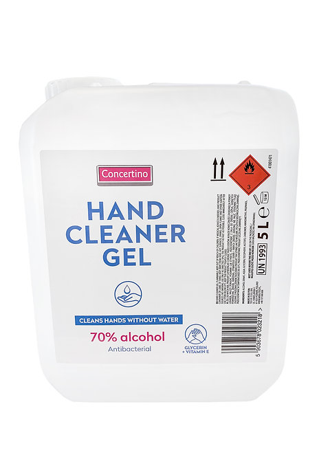 Concertino 70% Alcohol Hand Sanitising Gel