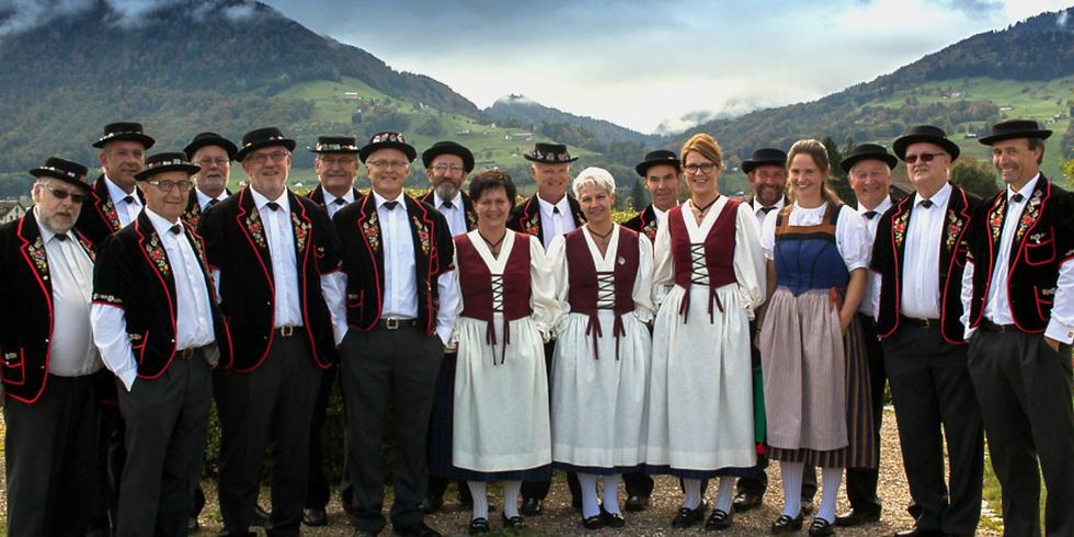 Jodel-Märt mit dem Jodlerklub Sängertreu