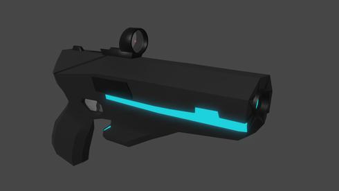 Sci-Fi Pistol