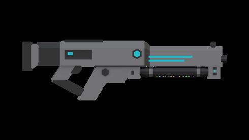 Sci Fi Blaster Rifle