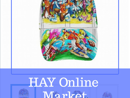 "HAY Online Market: We Are Treal Toonz"" Dad Hat $25.00 - Jafleu Apparel"
