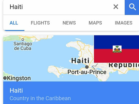 This Is Haiti HAY Online: Haiti Google Search first Organic Search result