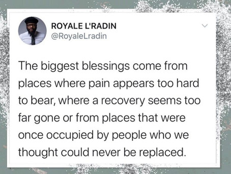 Royale L'radin Speaks | Blessings Tied To Pain | HAY Online News
