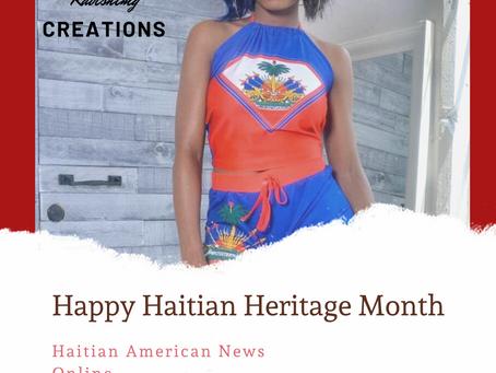 Haitian Heritage Month  》Ravishing Creations Haitian Heritage Month Outfit   HAY Online News