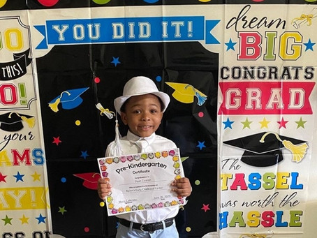 Father's Day Chronicles | Jefferson Ciceron Son Elijah Jay Has A Zoom Graduation | HAY Online News