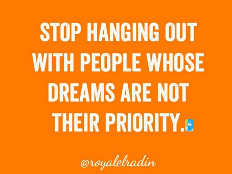 Royale L'radin Speaks: Hang Around People Who Put Their Dreams As A Priority