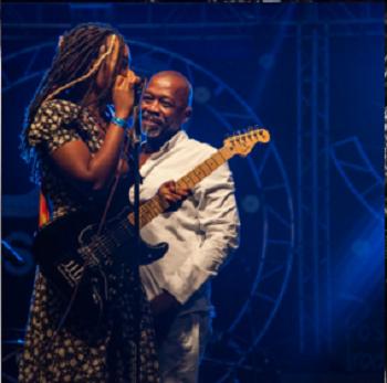Haitian American Soleil Laurent Sounds of Soleil Richard Laurent Gazing At His Daughter