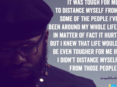 HAY Online Quotes | Self Preservation Is Self Love | Haitian - American Philosopher Royale L'rad