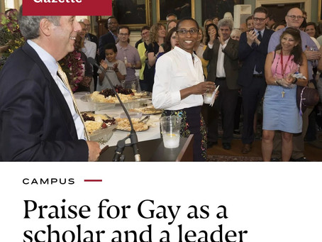 HAY Online News: Claudine Gay is New Edgerley Family Dean of the Faculty of Arts and Sciences (FAS)