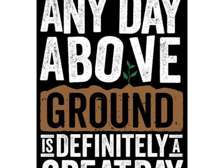 Royale L'radin Speaks | Any Day Above Ground | Monday Motivation