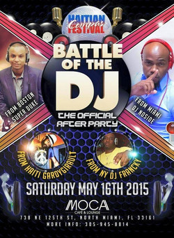 Battle of the DJ May 16th, 2015