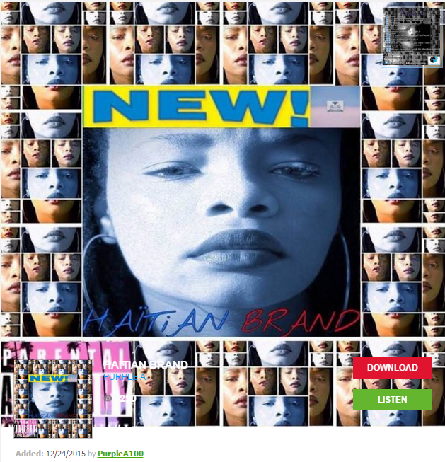 Haitian Brand Mixtape by Purple A on Datpiff