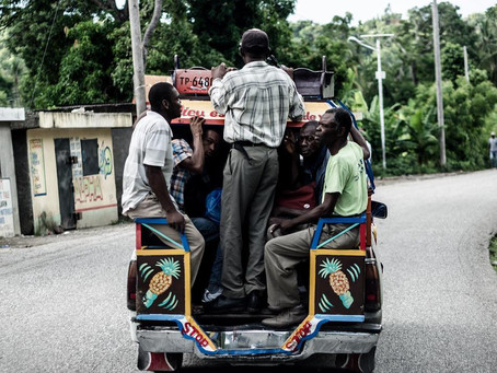 "Haitian Photojournalist | Nicolas Leger, The Great Haiti ""Tap Tap"" 