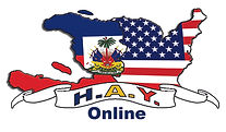 Haitian American Youth Online HAY Online Logo on HAY Online Landing Page Image