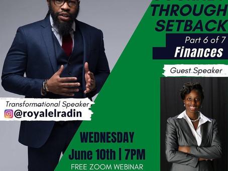 "HAY Online Financials |  ""Journey through Setback"" Part 6 of 7 ""Finances"" | Royale L'radin Speaks"