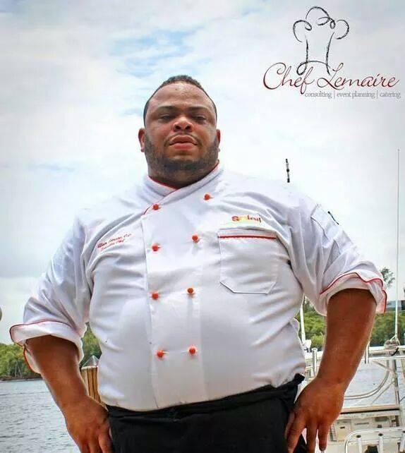 Alain Lemaire, Haitian Chef.jpg