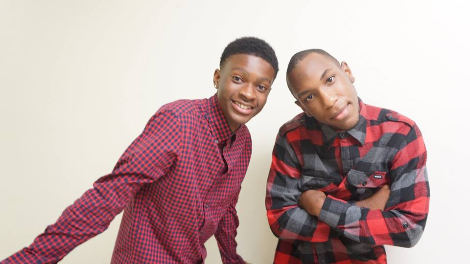 Young Shrimp Haitian American Youth Comedian and Emmanuel Joseph Haitian America