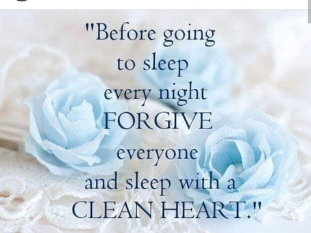 Marjory St. Elien Messages | FORGIVE Everyone, Sleep With A CLEAN HEART | HAY Online