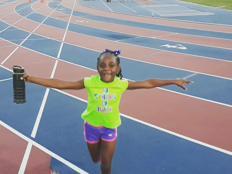 HAY Online Sports | Alyssa Sylvestre Finishes The Race, What A HAY Online Kid!