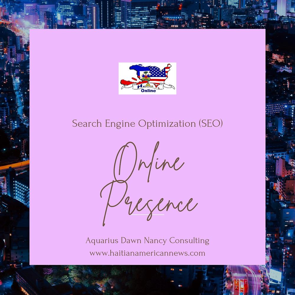 Search Engine Optimization (SEO) : Online Presence Set Up