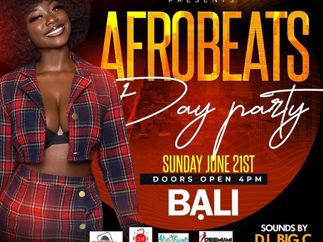 HAY Online Media Events | Afro Beats Day Party at Bali Lounge Hollywood, Florida | HAY Online News