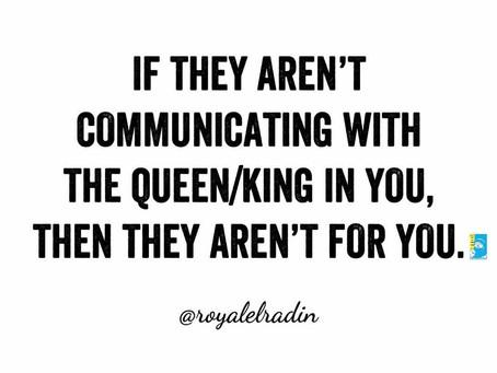 Monday Motivation | Communication in Relationships - Royale L'radin Speaks