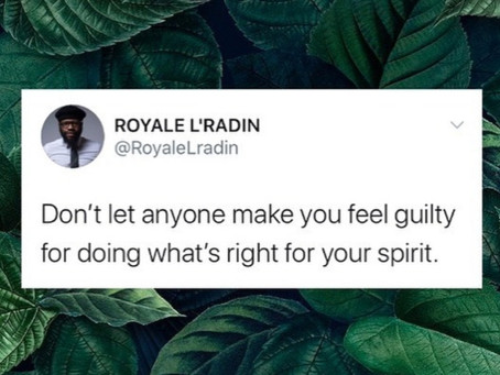 HAY Online Messages | Royale L'radin Speaks What Is Right For Your Spirit | HAY Online Quotes