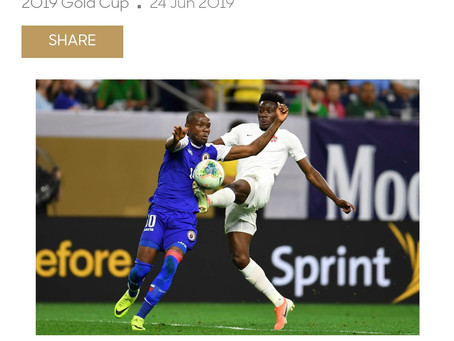 HAY Online News | Haiti Beats Canada 3 - 2 in Houston, Texas at CONCACAF Gold Cup | HAY Online Sport