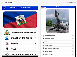 Proud to be Haitian App on iTunes Screen Shot