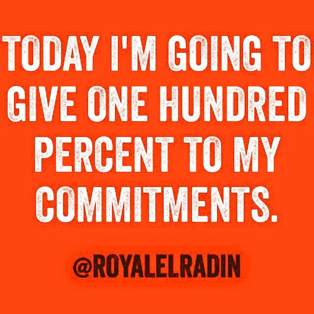 Royale L'radin TODAY I AM GOING TO GIVE ONE HUNDRED PERCENT