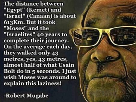 HAY Online Conscience: Former Zimbabwe Prime Minister Robert MUGABE on Kemet
