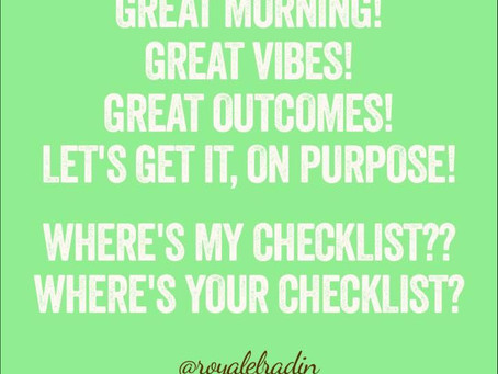 HAY Online Quotes | Good Morning, Good Vibes - Royale L'radin Speaks