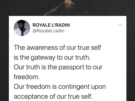 HAY Online Quotes | Awareness of Self | Royale L'radin Speaks