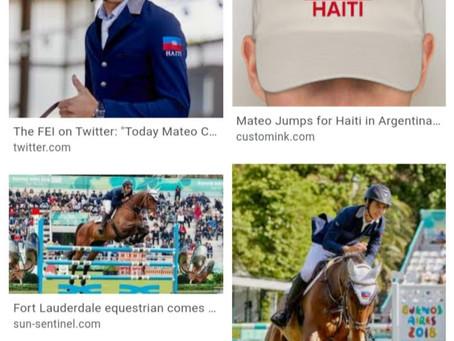 Equestrian Sports | Mateo Jumps For Haiti | HAY Online News