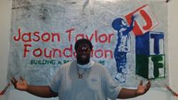 JaFleu at the Jason Taylor Foundation Art Slam & Pop Up Art Show 6.jpg