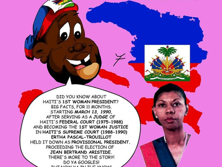Haitian Culture | Haitian Heritage Facts 02 HAY Online About Haiti's First Female President in 1