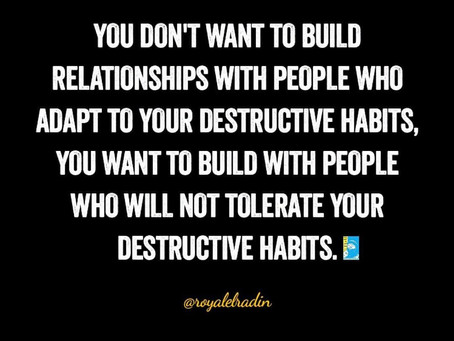 Thoughtful Tuesdays HAY Online: Stay Away From Destructive Relationships