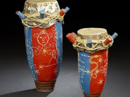 HAY Online Search: Rada Drums In Haitian Voodoo