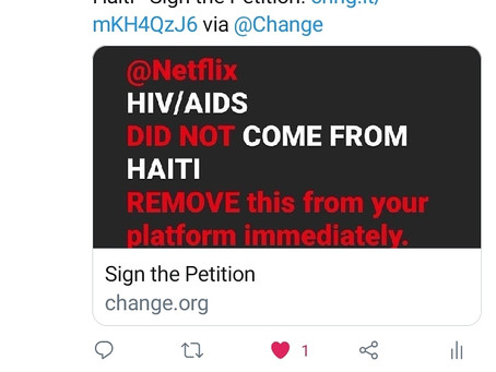 Netflix | Again? Haiti Tried In Netflix Documentary About Aids Mentions Haiti | HAY Online News