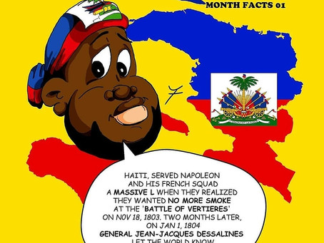 Haitian Culture | HAY Online, JaFleu the Artist Treal Toonz Haitian Heritage Month Facts 01