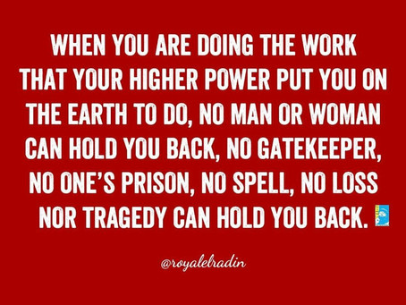 HAY Online Quotes | Royale L'radin Speaks on Your Higher Power