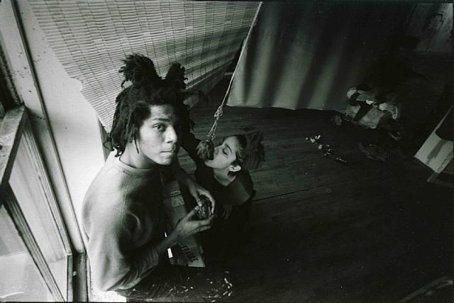 Jean-Michel Basquiat and Modonna