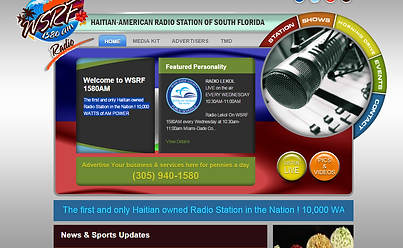 Haitian American Radio Station of South Florida HAY Online Screenshot