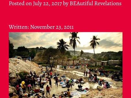 HAY Online - Poems: Wake Up Haitians by Bee Jay of BEAutiful Revelations Blog