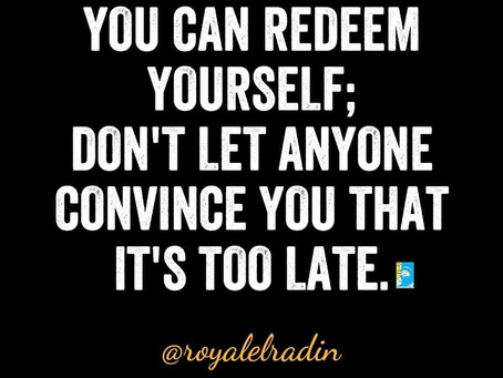 HAY Online Quotes   You Can Redeem Yourself, Royale L'radin Speaks