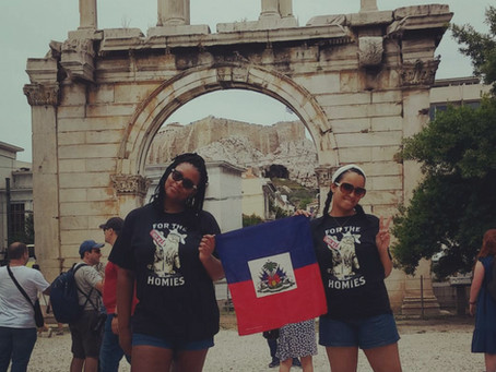HAY Online Followers Spotlight | Maritza of Cap Haitian Represents for Haiti on Vacation in Athens,