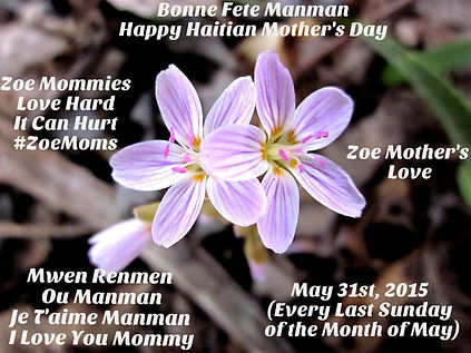 Bonne Fete Manman Happy Haitian Mother's Day