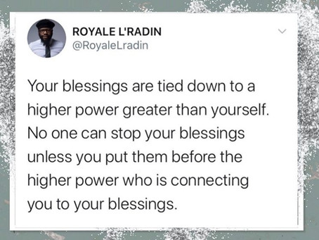 Royale L'radin Speaks | Blessings Tied To A Higher Power | HAY Online Media