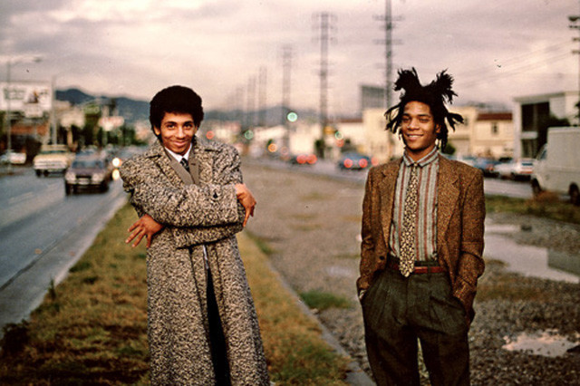 """""""Beat Bop"""" Record Image Jean-Michel Basquiat and Fab Five Freddy and Rammelzee"""